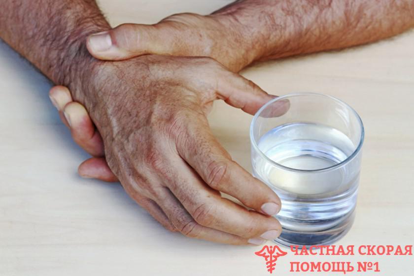 Тремор при абстинентном синдроме лечение алкоголизма больного